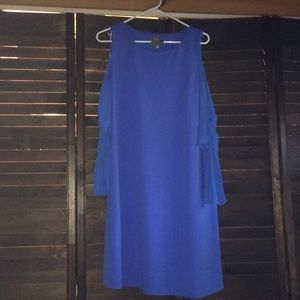 Beautiful Taylor Cold Shoulder Dress Worn One Time